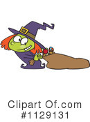 Royalty-Free (RF) Witch Clipart Illustration #1129131