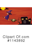 Royalty-Free (RF) Witch Clipart Illustration #1143892