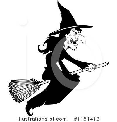 Royalty-Free (RF) Witch Clipart Illustration by Cory Thoman - Stock Sample #1151413