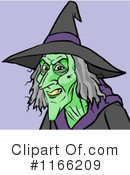 Witch Clipart #1166209 by Cartoon Solutions