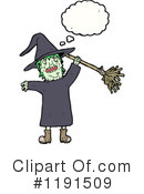 Witch Clipart #1191509 by lineartestpilot
