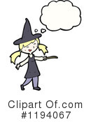 Witch Clipart #1194067 by lineartestpilot
