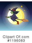 Witch Clipart #1196083 by Graphics RF