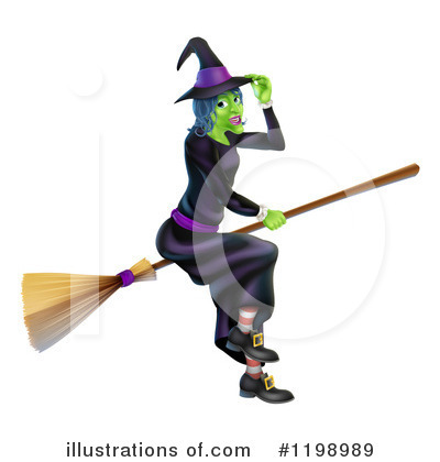 Witch Clipart #1198989 by AtStockIllustration