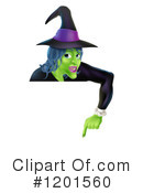 Witch Clipart #1201560 by AtStockIllustration