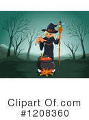 Witch Clipart #1208360 by Graphics RF