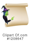 Witch Clipart #1208647 by AtStockIllustration