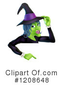 Witch Clipart #1208648 by AtStockIllustration