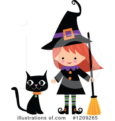 Black Cat Clipart #1209265 by peachidesigns