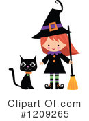 Royalty-Free (RF) Witch Clipart Illustration #1209265