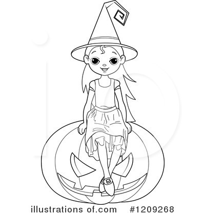 Witch Clipart #1209268 by Pushkin