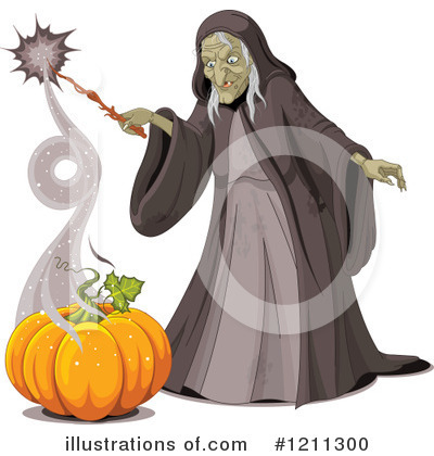 Witch Clipart #1211300 by Pushkin