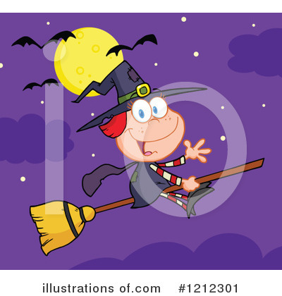 Witch Clipart #1212301 by Hit Toon
