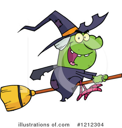 Witch Clipart #1212304 by Hit Toon
