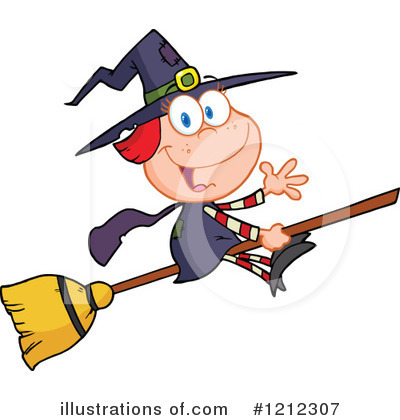 Witch Clipart #1212307 by Hit Toon