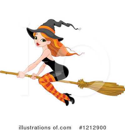 Witch Clipart #1212900 by Pushkin