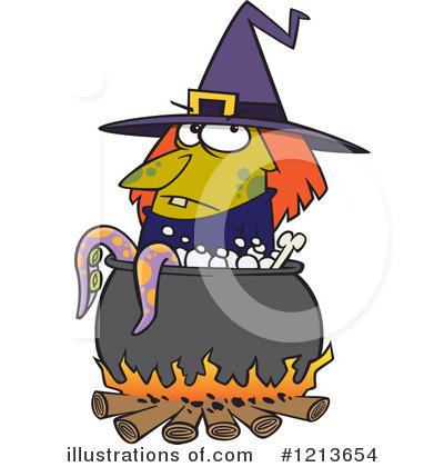 Witch Clipart #1213654 by toonaday