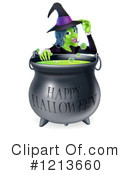 Royalty-Free (RF) Witch Clipart Illustration #1213660