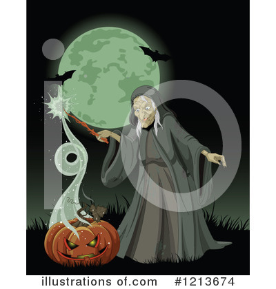 Witch Clipart #1213674 by Pushkin