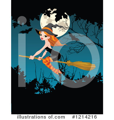Witch Clipart #1214216 by Pushkin