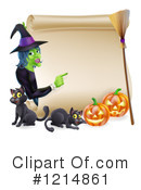 Witch Clipart #1214861 by AtStockIllustration