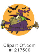 Witch Clipart #1217500 by toonaday