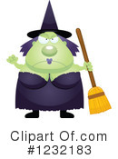 Witch Clipart #1232183 by Cory Thoman
