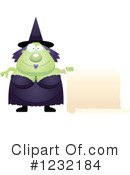 Witch Clipart #1232184 by Cory Thoman