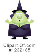 Witch Clipart #1232185 by Cory Thoman