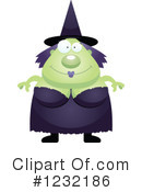 Witch Clipart #1232186 by Cory Thoman