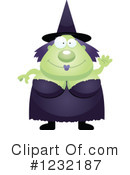 Witch Clipart #1232187 by Cory Thoman