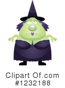 Witch Clipart #1232188 by Cory Thoman