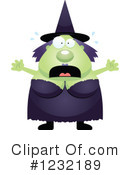 Witch Clipart #1232189 by Cory Thoman