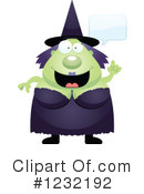 Witch Clipart #1232192 by Cory Thoman