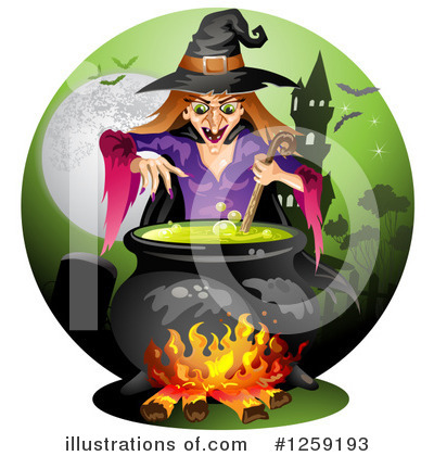 Witch Clipart #1259193 by merlinul