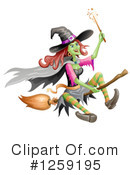 Witch Clipart #1259195 by merlinul