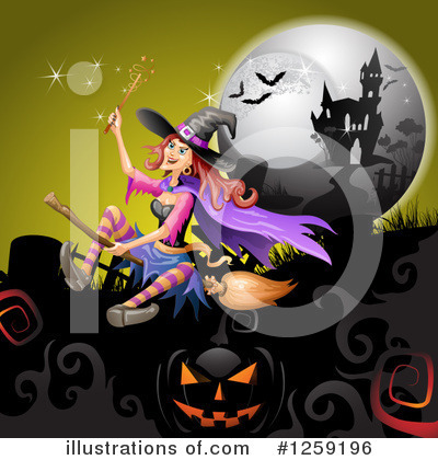 Witch Clipart #1259196 by merlinul