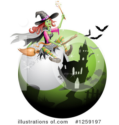 Witch Clipart #1259197 by merlinul