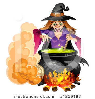Witch Clipart #1259198 by merlinul