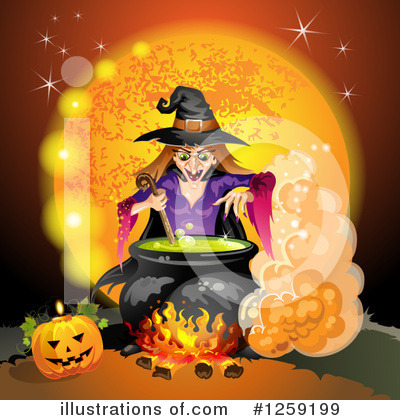 Witch Clipart #1259199 by merlinul