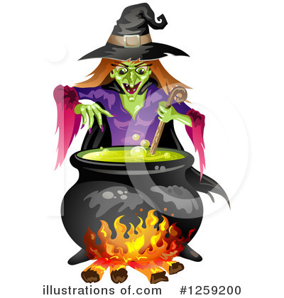 Witch Clipart #1259200 by merlinul