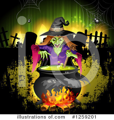 Witch Clipart #1259201 by merlinul