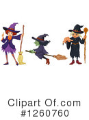 Witch Clipart #1260760 by Graphics RF
