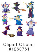 Witch Clipart #1260761 by Graphics RF