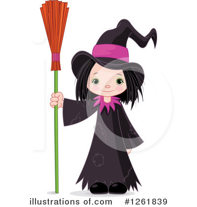 Witch Clipart #1261839 by Pushkin