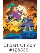 Witch Clipart #1263391 by visekart