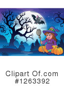 Witch Clipart #1263392 by visekart