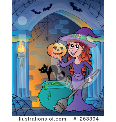 Haunted Hallway Clipart #1263394 by visekart