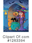 Witch Clipart #1263394 by visekart