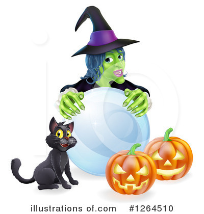 Witch Clipart #1264510 by AtStockIllustration
